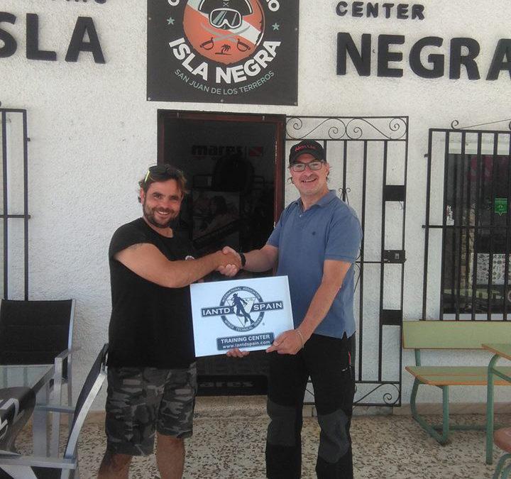 Rubén Nieto, nuevo Trainer IANTD